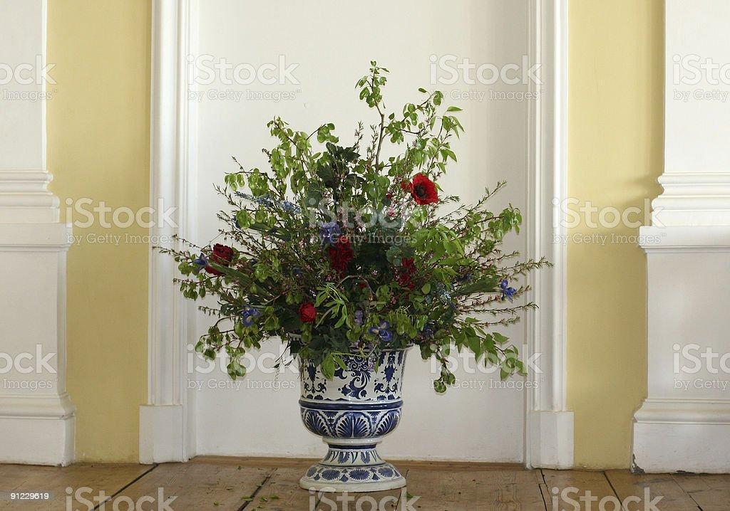 Porcelaine un vase photo libre de droits