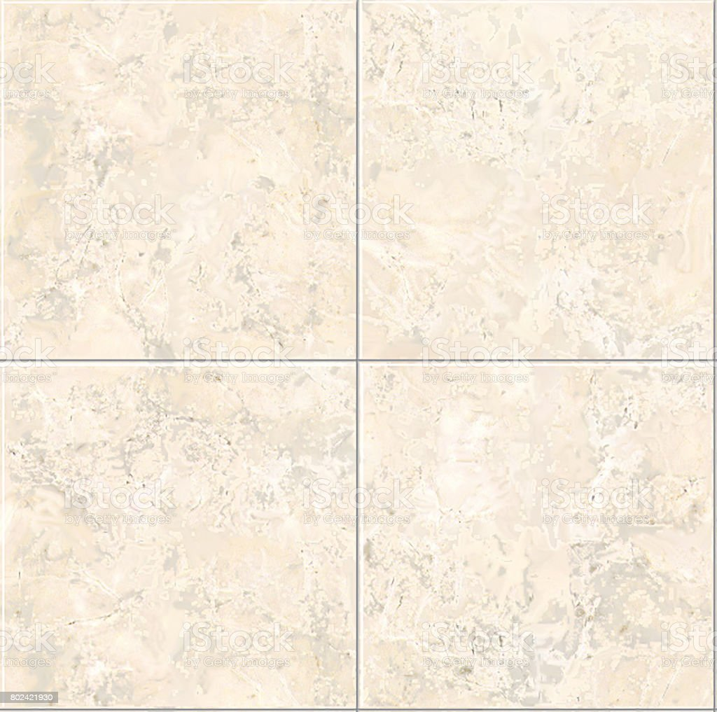 Porcelain tile seamless texture, map for 3d graphics stock photo