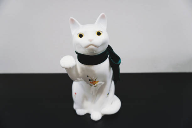 Porcelain white cat sculpture statue isolated picture id1158582018?b=1&k=6&m=1158582018&s=612x612&w=0&h=g wixrdqezxp0mj9kzp4gp0anlboaqdulqffr060axi=