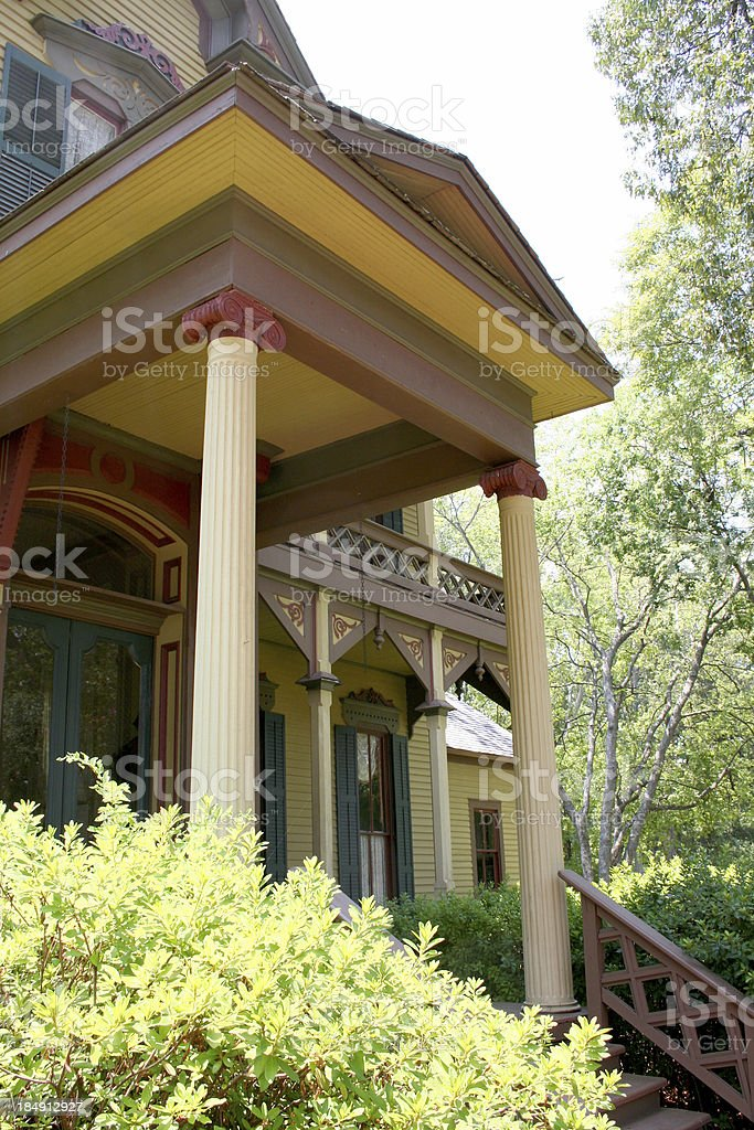 Porch royalty-free stock photo