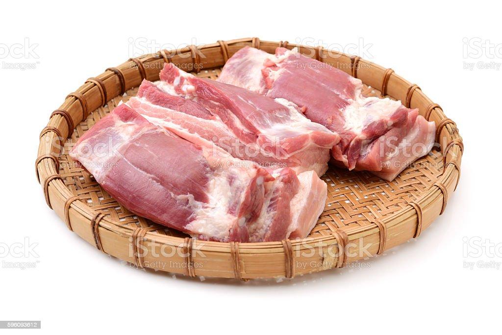 Pork belly royalty-free stock photo