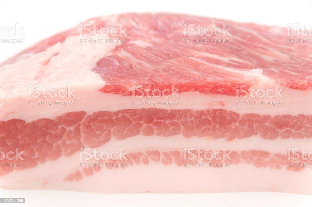 Pork belly stock photo