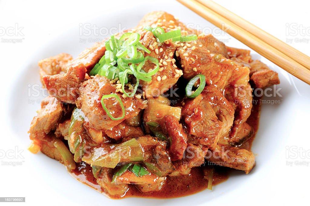 Pork Bulgogi stock photo
