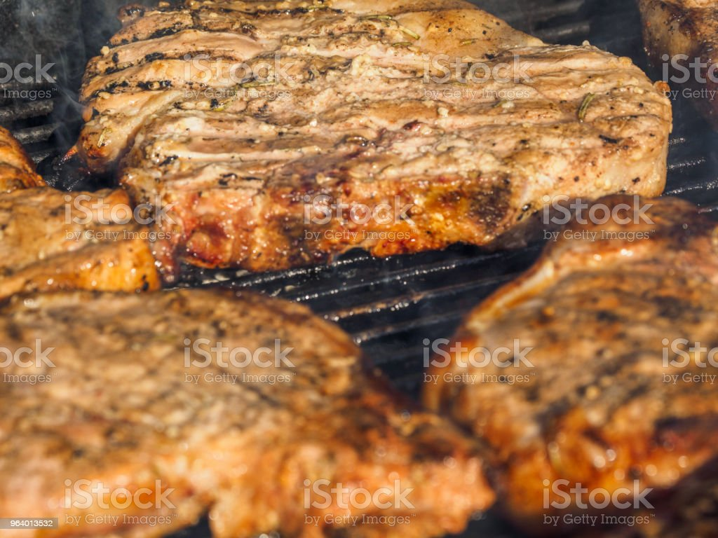 Pork chops - Royalty-free Barbecue Stock Photo