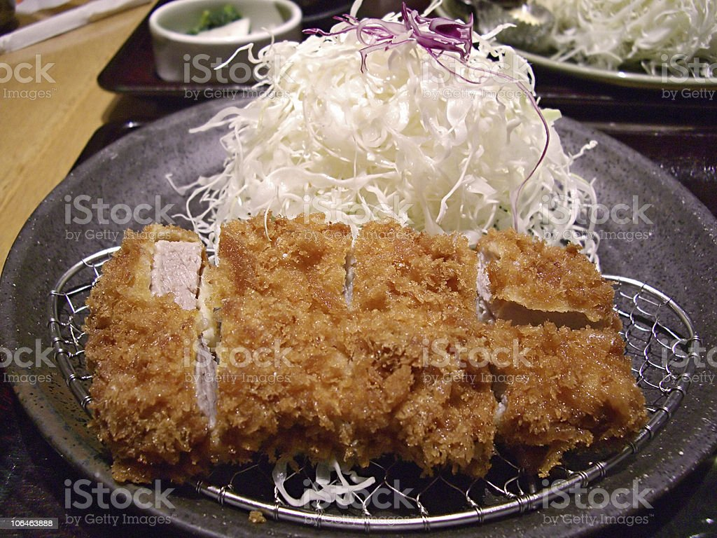 Pork Cutlet royalty-free stock photo