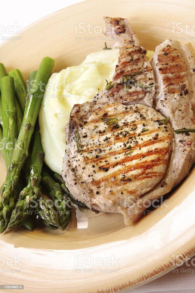 Pork Meal royalty-free stock photo