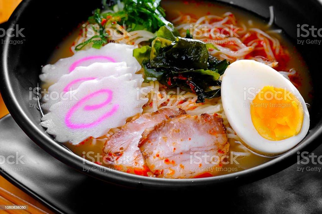 Pork Ramen In Japan Stock Photo - Download Image Now - iStock