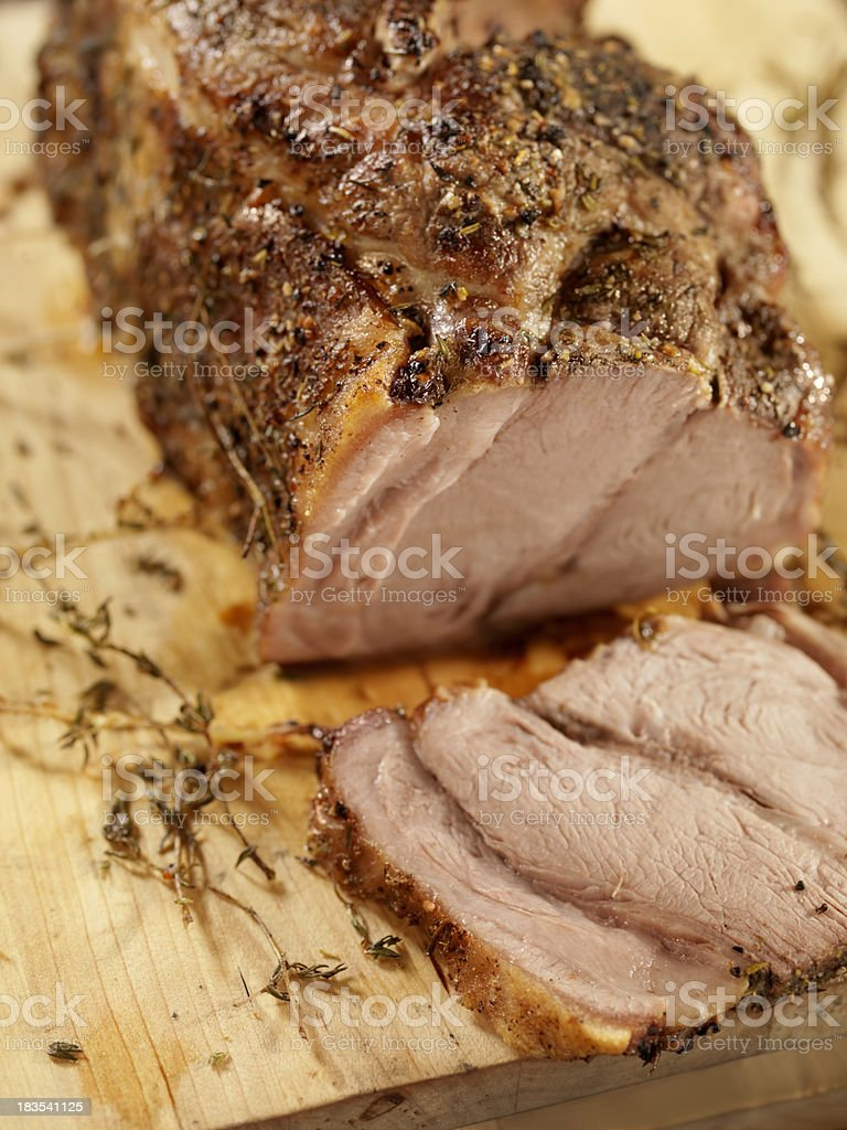 Pork Roast royalty-free stock photo