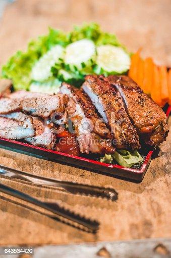 istock Pork Spare Ribs 643534420
