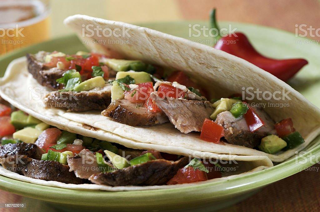 Pork Tacos royalty-free stock photo