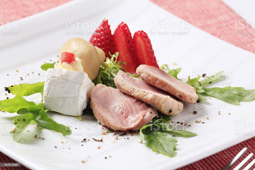 Pork tenderloin stock photo