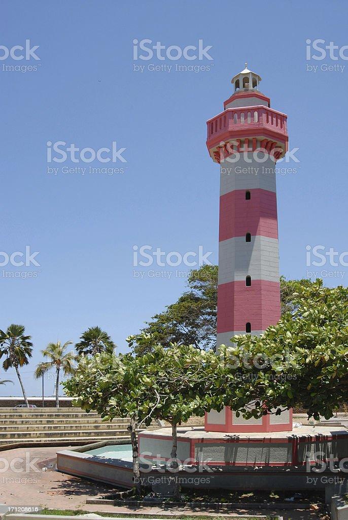 Porlamar Lighthouse royalty-free stock photo