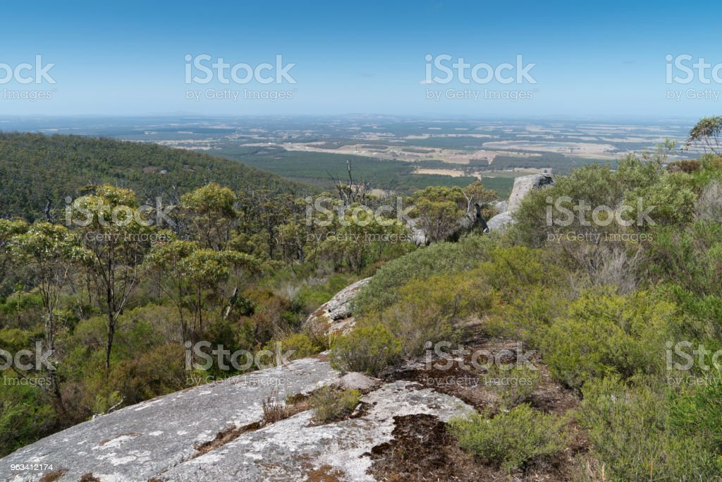 Porongurup National Park nära Albany, Western Australia - Royaltyfri Albany - Western Australia Bildbanksbilder
