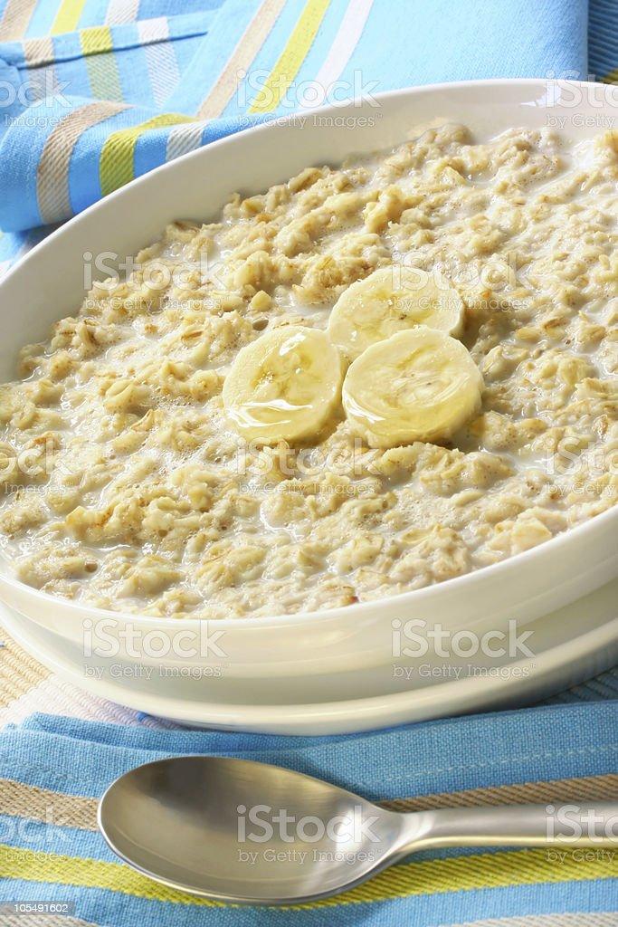 Porridge royalty-free stock photo
