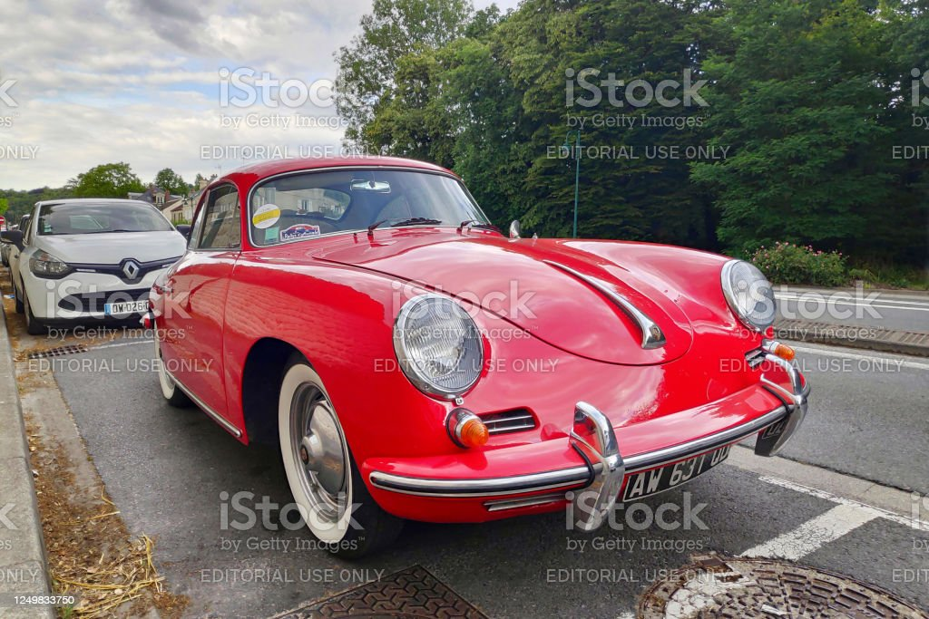 Porsche 356 1600 C - Royalty-free Antique Stock Photo