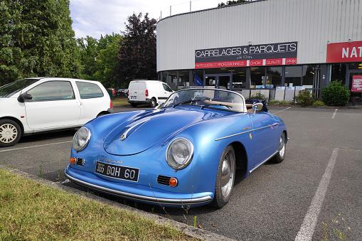 Porsche 356 Speedster Stock Photo - Download Image Now