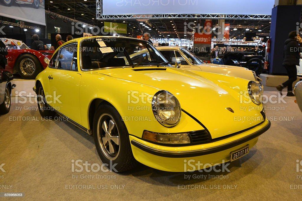 Porsche 911 at the classic car show stock photo