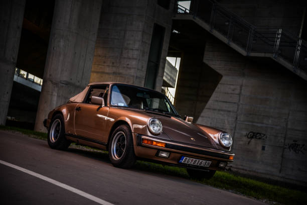 Porsche 911 Carrera 2 cabrio Porsche 911 Carrera 2 cabrio porsche stock pictures, royalty-free photos & images