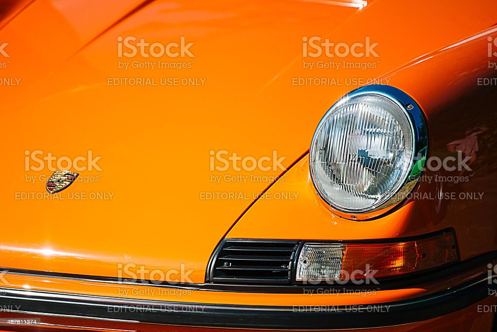 Porsche 911 Carrera RS, 1973 stock photo