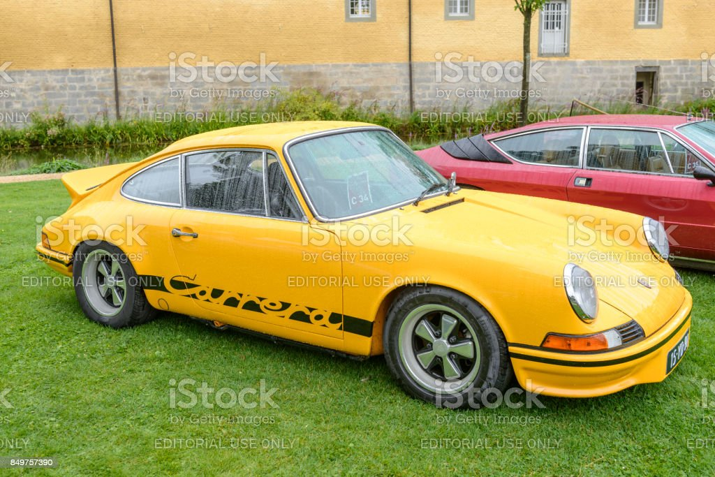 Porsche 911 Carrera Rs 27 Classic 1970 Sports Car Stock Photo Download Image Now Istock