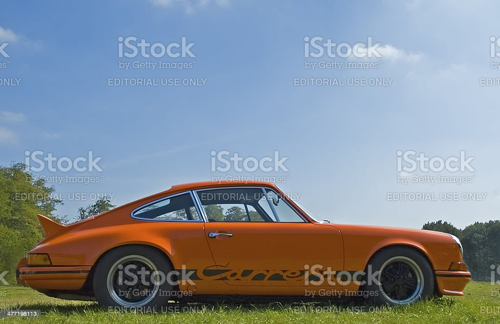 Porsche 911 Carrera RS stock photo