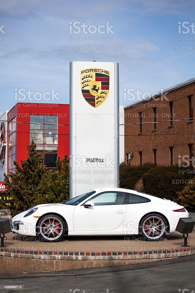 Porsche 911 Carrera S 991 Series stock photo