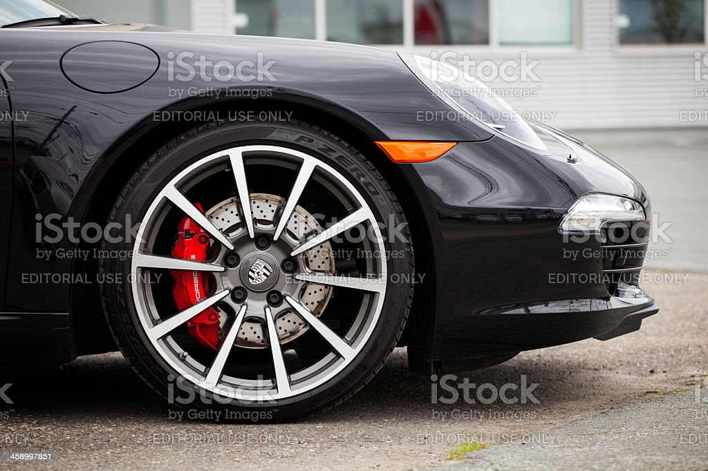 Porsche 911 Carrera S Cabriolet stock photo