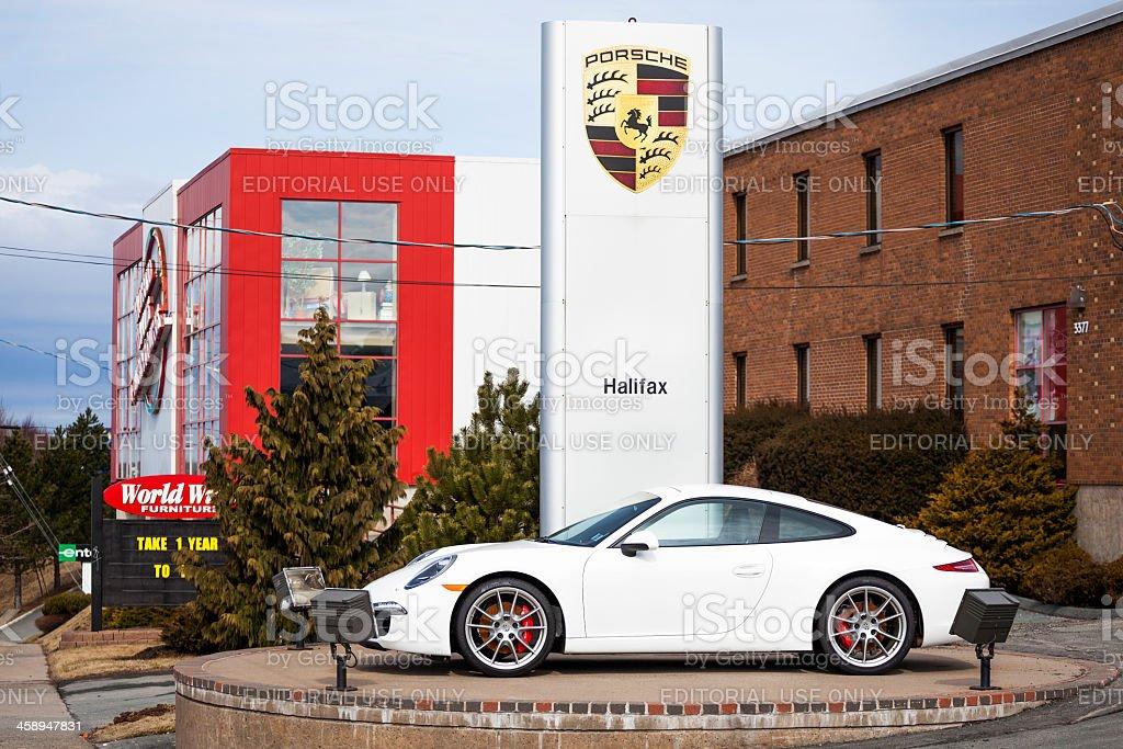 Porsche 911 Carrera S stock photo