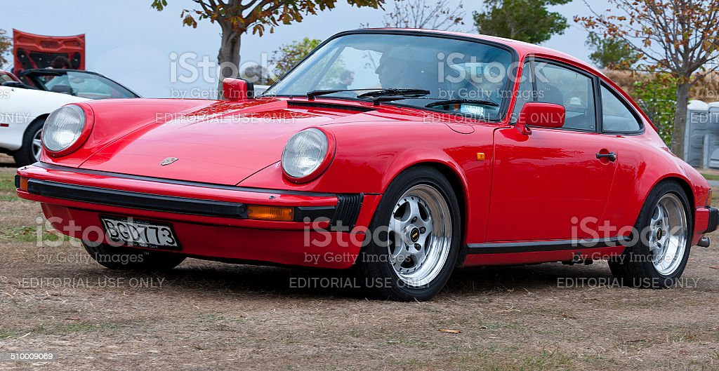 Porsche 911 from 1978 stock photo