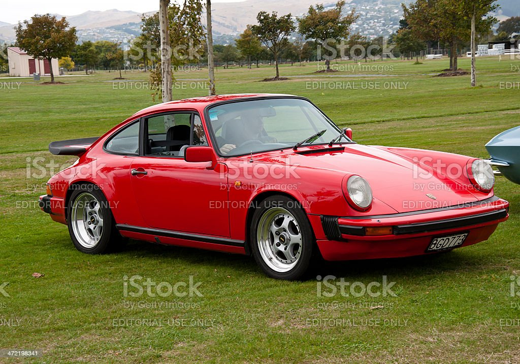 Porsche 911 from 1982 stock photo