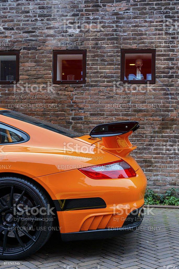 Porsche 911 GT2 stock photo