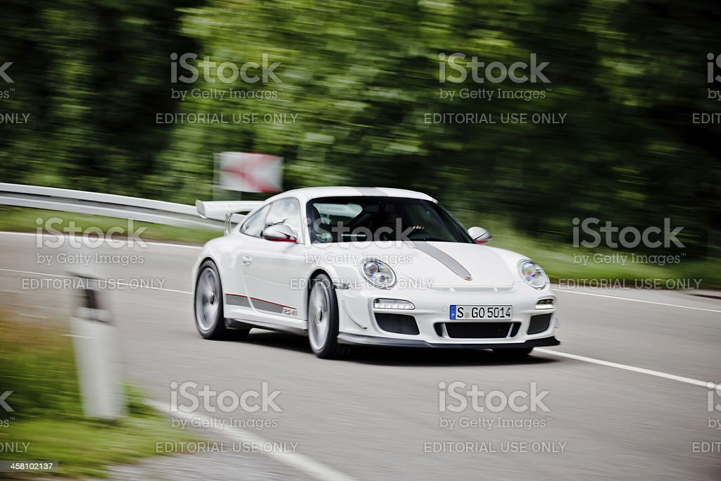 Porsche 911 GT3 RS 4.0 stock photo