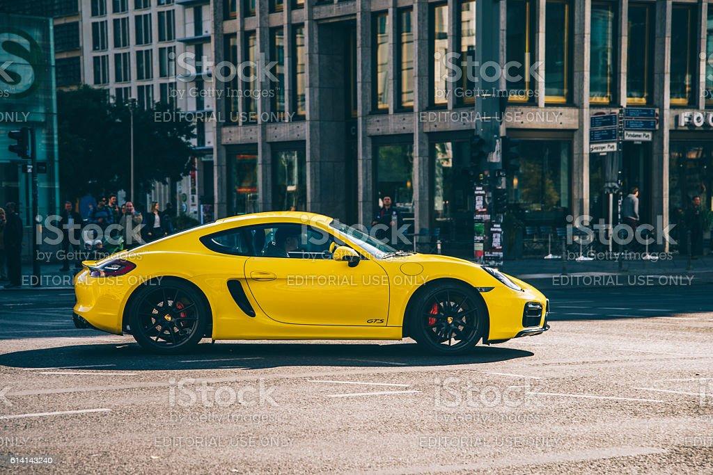 Porsche 911 GTS stock photo