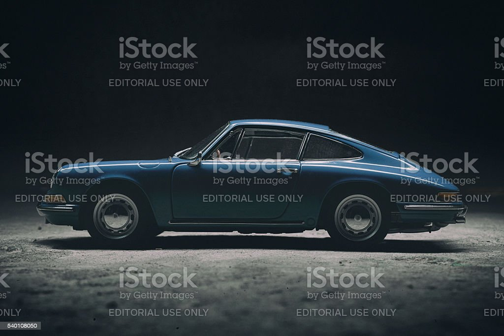 Porsche 911 Model Car stock photo