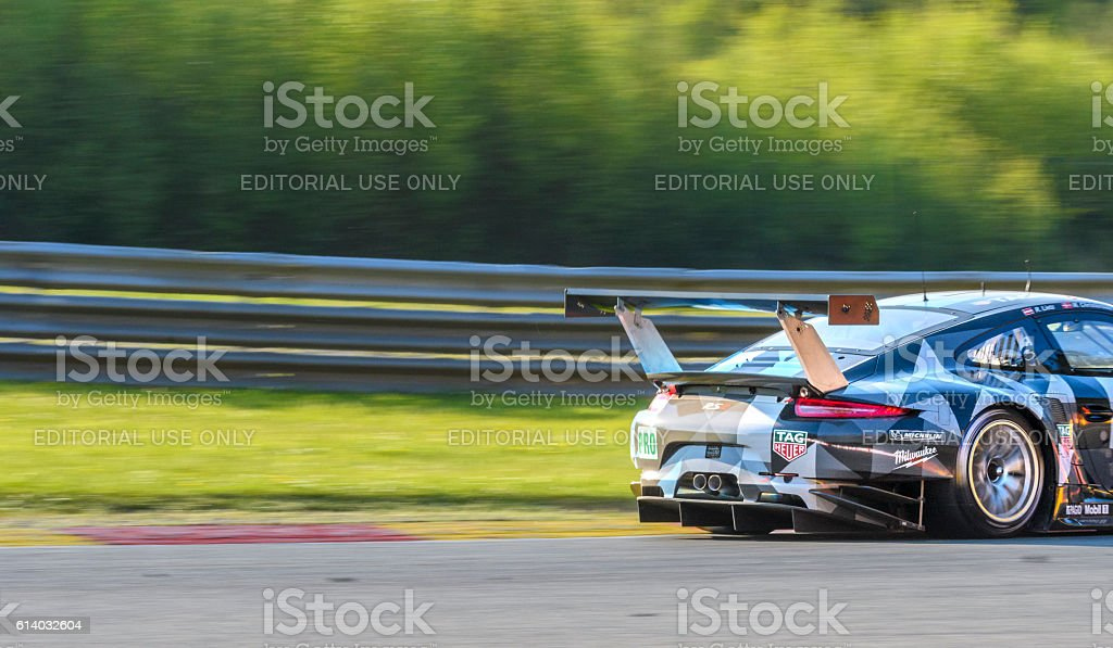 Porsche 911 RSR Dempsey Proton Racing stock photo