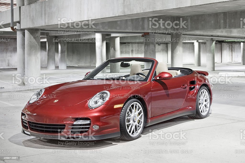 Porsche 911 Turbo stock photo