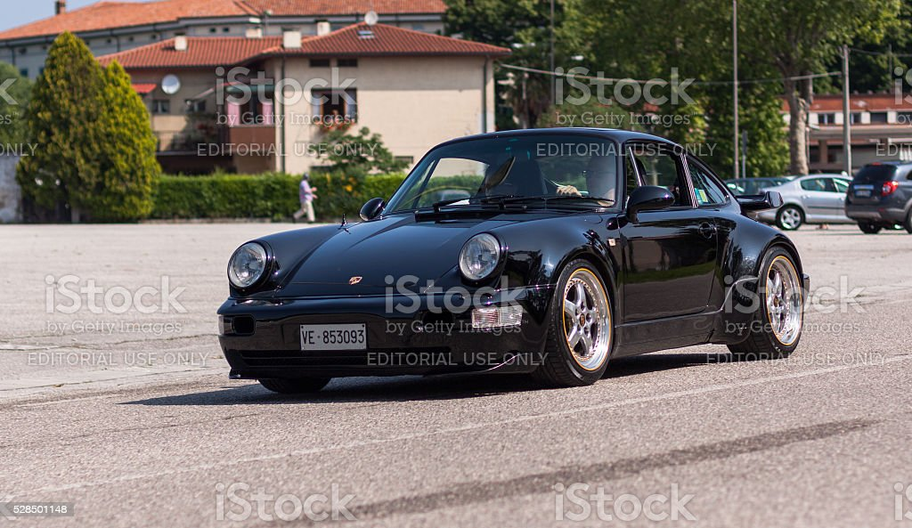 Porsche 911 Turbo S stock photo
