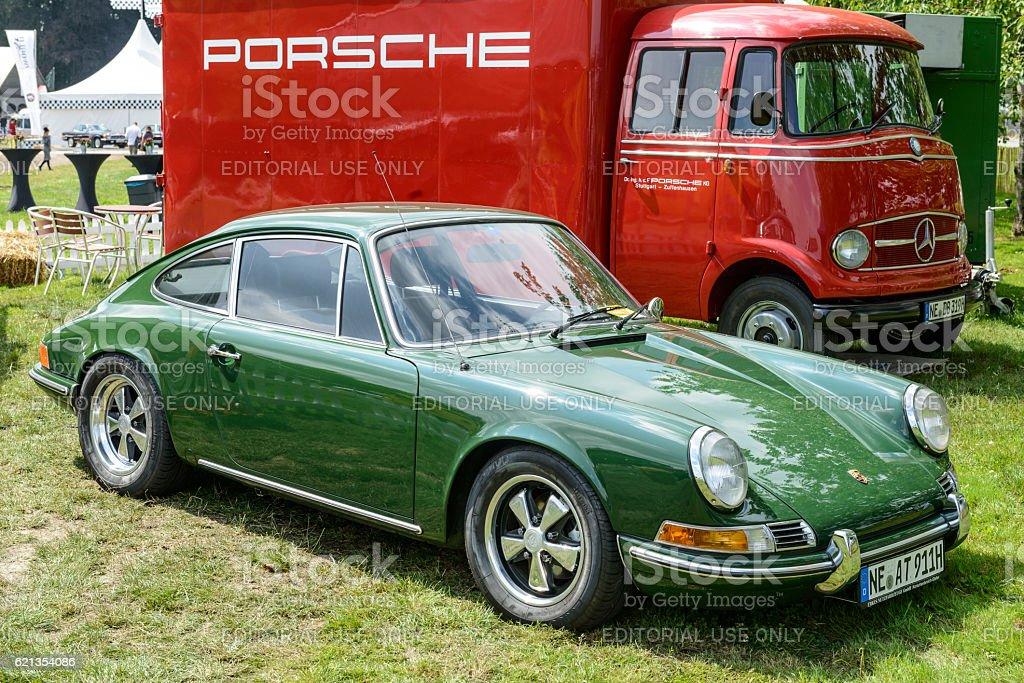 Porsche 911 Vintage Classic Sports Car Stock Photo & More Pictures ...