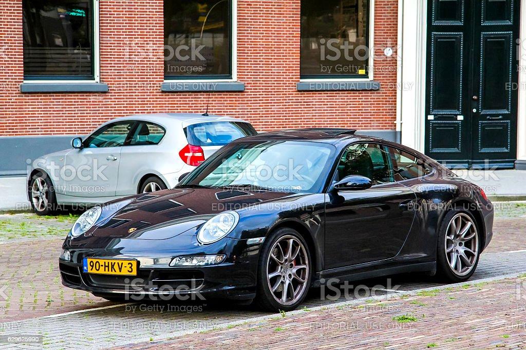 Porsche 997 911 stock photo
