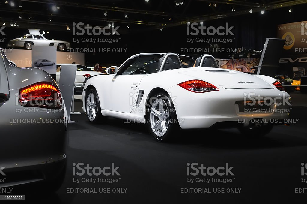 Porsche Boxster Spyder royalty-free stock photo