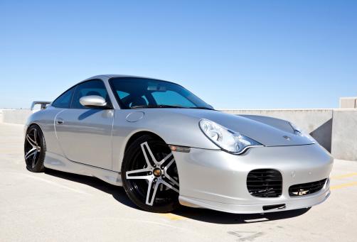 Porsche Carerra 2002 Stock Photo - Download Image Now