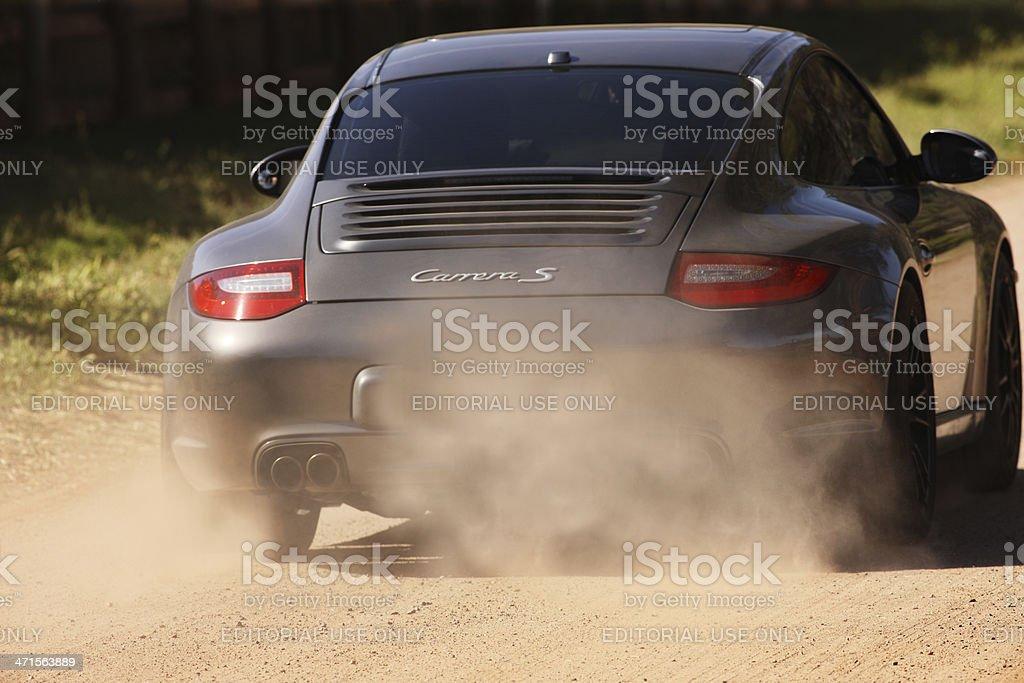 Porsche Carrera 911 Roadster Sports Car stock photo