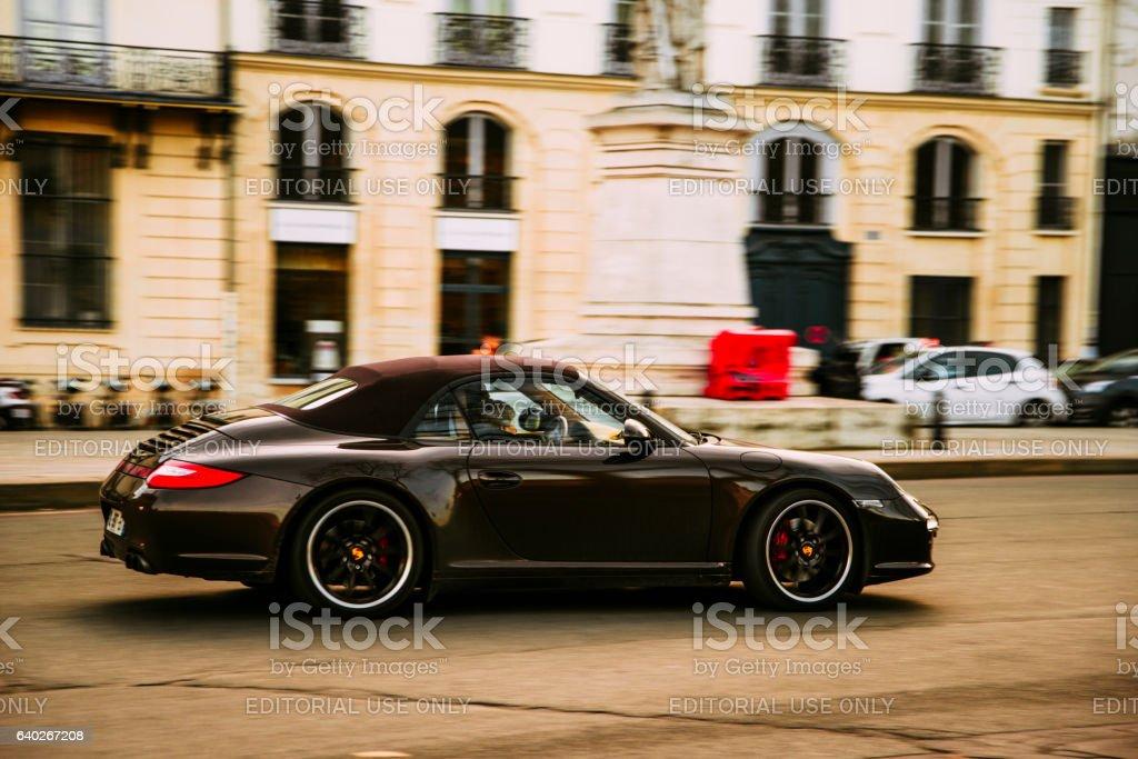 Porsche Carrera S stock photo
