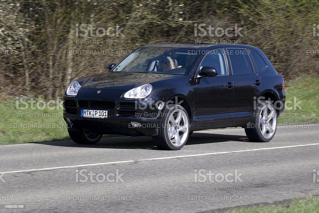 Porsche Cayenne stock photo