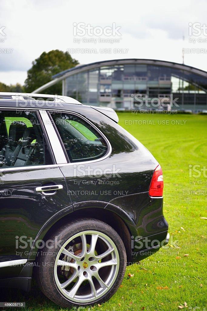 Porsche Cayenne royalty-free stock photo