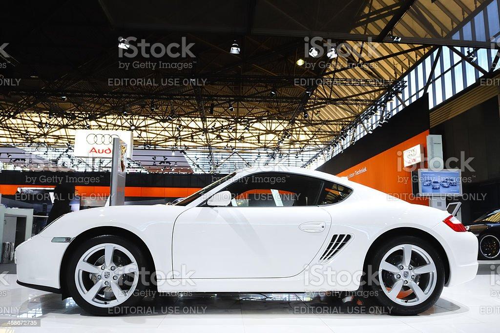 Porsche Cayman stock photo
