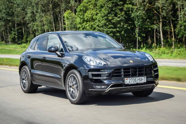 Porsche Macan Turbo stock photo