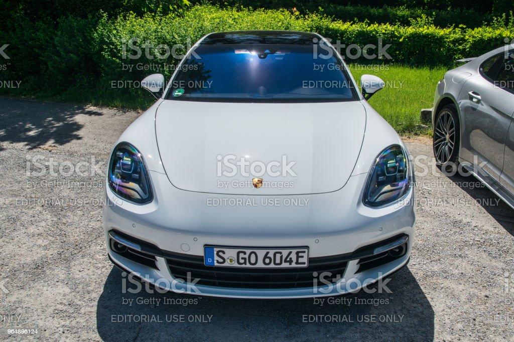 Porsche Panamera 4 e-hybrid royalty-free stock photo