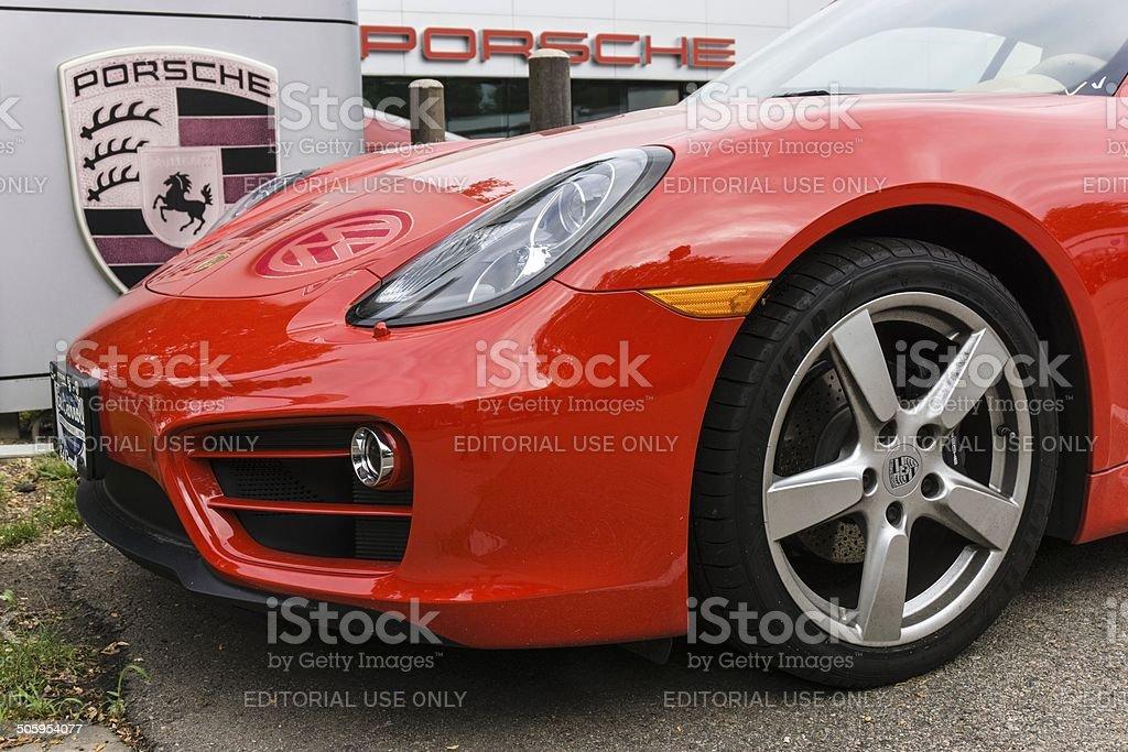 Porsche stock photo