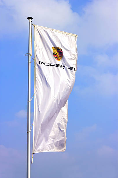 Porsche sports car producer logo on a flag picture id458569549?b=1&k=6&m=458569549&s=612x612&w=0&h=yp4sx11hzkj0kqrdest3zdvklvsv pdhym4rtot1q4q=